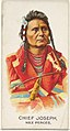 Chief Joseph, Nez Perces, from the American Indian Chiefs series (N2) for Allen & Ginter Cigarettes Brands MET DP828001.jpg