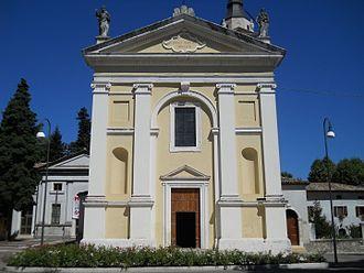 Affi - Parish church of Affi.