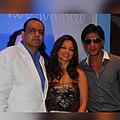 Chikki Panday, Deanne Panday & Shahrukh Khan.jpg