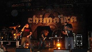Chimaira heavy metal band