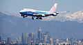 China Airlines Over LA (2145686780).jpg