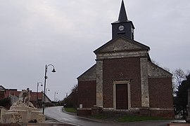The church in Chipilly