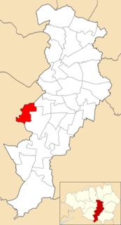 Chorlton (ward) Electoral ward in England