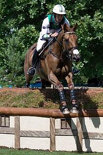 Australian male equestrian Olympian