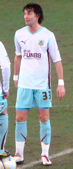 Chris Eagles - Eagles with Burnley in 2011