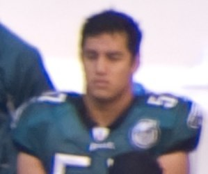 Chris Gocong - Gocong with the Philadelphia Eagles in 2007