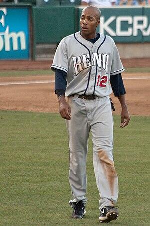 Chris Roberson (baseball) - Roberson with the Reno Aces