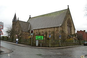 Ince-in-Makerfield - Image: Christ Church, Ince in Makerfield