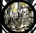 Christ Taking Leave of His Mother, stained glass, Nuremberg, 1507-ca. 1515 (5469095731).jpg
