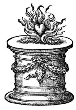 Christian Egenolff - Printer's device used by Christian Egenolff
