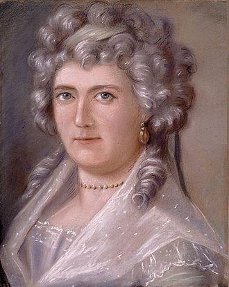 John Munro (loyalist) - The Munro's eldest daughter, Christiana, circa 1795 at Montreal