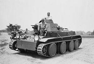 J. Walter Christie - Experimental Christie T3E2 tank, shown here during tests in 1936