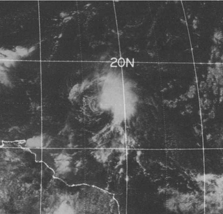 Tropical Storm Christine (1973) Atlantic tropical storm in 1973