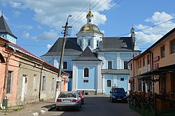 Church of Nativity of the Theotokos, Sambir (02).jpg