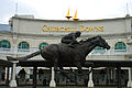 Churchill Downs Entrance Barbaro Statue.jpg