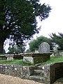 Churchyard, The Church of St Mary the Virgin, Upton Scudamore - geograph.org.uk - 682271.jpg