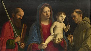 The Virgin and Child with Saint Paul and Saint Francis