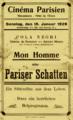 Cinéma Parisien Wasselonne 1928.png
