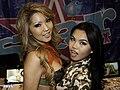 Cindy Starfall & Tia Kai at AVN Adult Entertainment Expo (25638267106).jpg