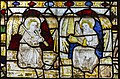 Cirencester, St John the Baptist church, medieval stained glass (31458762898).jpg