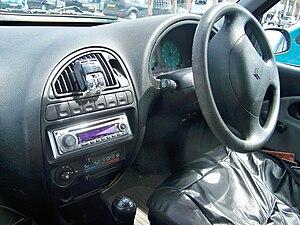 Citroën Saxo - Interior