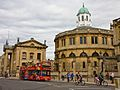 City Sightseeing bus in Oxford, England 12 - Broad Street.jpg