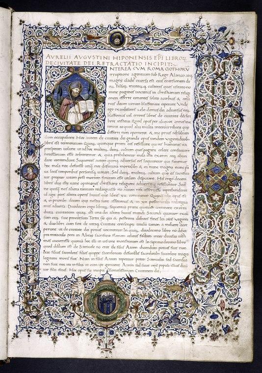 City of God Manuscript