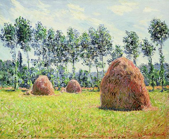 Claude Monet, 1884 - Haystacks at Giverny.jpg