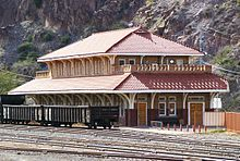 Train Station, Clifton, Arizona