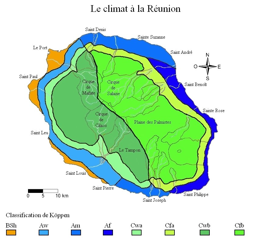 Climat Réunion