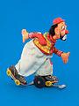 Clown on roller skate, TPS Japan 1955.jpg