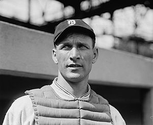 Clyde Manion - Manion with Detroit in 1924