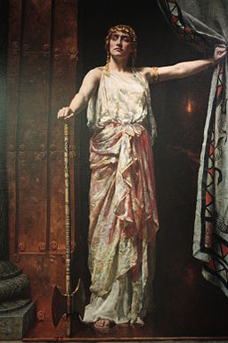 Clytemnestra by John Collier, 1882