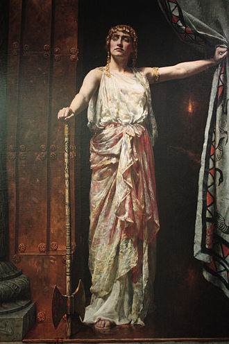 John Collier (painter) - Clytemnestra by John Collier, 1882