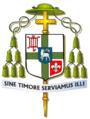 CoA Bishop Mgr. Dr. J.H.J. van den Hende, Roman Catholic Diocese of Rotterdam, Netherlands.PNG
