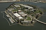 Coast Guard Island in the Oakland Estuary