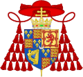 Coat of Arms of Cardinal Henry Benedict Stuart.svg