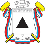 Coat of Arms of Magnitogorsk (Chelyabinsk oblast) (1993).png
