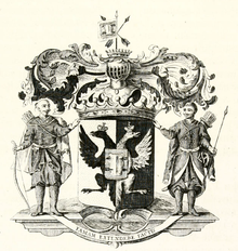 Coat of Arms of Razumovsky family (1798).png