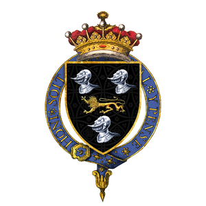 William Compton, 1st Earl of Northampton - Arms of Sir William Compton, 1st Earl of Northampton, KG