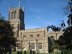 Cockayne Hatley -  St John's Church ca. 2000