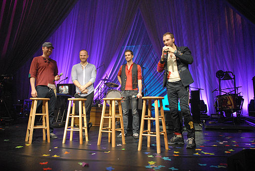 Coldplay performs for Nissan Live Sets 1