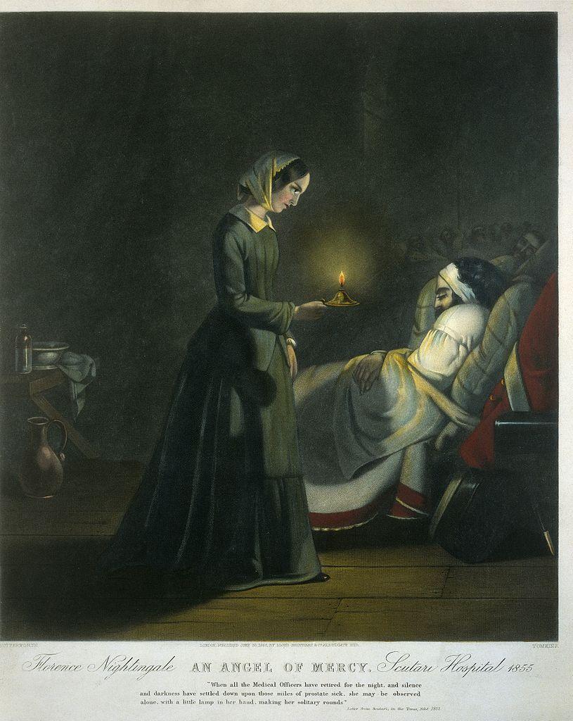 File Coloured Mezzotint Florence Nightingale Wellcome