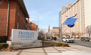 Franklin University - Franklin's Main Campus in Columbus, Ohio