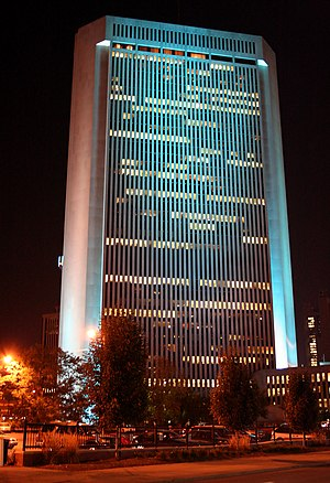 Nationwide Mutual Insurance Company - One Nationwide Plaza, the headquarters in Columbus.