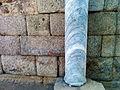 Columna de mármol romana en el Teatro Romano.jpg