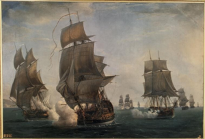 Action of 17 August 1779 - Capture of HMS Ardent by the frigates Junon and Chantil