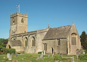 Combe, Oxfordshire - Image: Combe St Laurence SE
