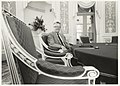 Commissaris der Koningin drs. R.J. de Wit in zijn werkkamer in het Provinciehuis aan de Paviljoenslaan. NL-HlmNHA 54015253.JPG