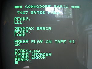 Commodore Datasette - The Datasette loading process